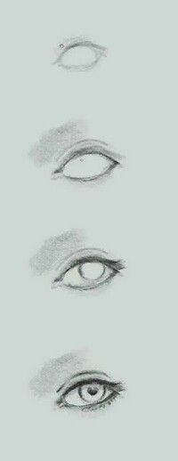 The pupil is a heart :3 ♥