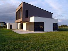 WhiteCube – ein modernes Architektenhaus in Wiener Neustadt » Fassade