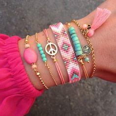 Beaded, metal, stones... accessories