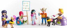 Trupe!   los SEMI9S les gusta Playmobil.  A partir de ahora hará magos en silla de ruedas, hadas ciegas, genios con audífonos y princesas con andador, y dará parte de los beneficios de su venta a fines solidarios.  Y todo gracias a más de 50.000 personas que han firmado una petición a través de la plataforma Change .org.  WEB: www.seminous.es FACEBOOK: facebook.com/seminous           facebook.com/seminous.es PINTEREST:www.pinterest.com/seminous BLOG: seminous.blogspot.com TWITTER…