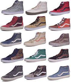 6147d12571 Vans Sk8 Hi Reissue Classic Skateboard Shoes Men Women Choose Colors  amp   Sizes