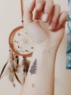 cute small tree tattoo idea