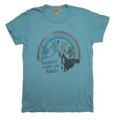 Grateful Dead Sunshine Makes Me Smile Junk Food Originals Soft Vintage Style T-Shirt