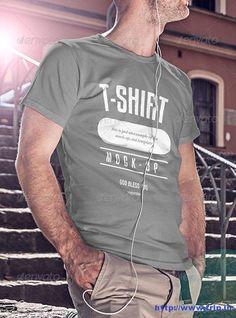70 Best T Shirt Mockup Design PSD Templates 2016  http://www.frip.in/t-shirt-mockup-design-template/
