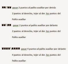 Silvana Tim - Tejido con dos Agujas, puntos, patrones de tejido: Tejido a dos agujas #22 - Motivo o punto BUHO