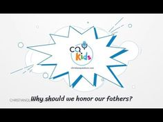 Why should we honor our fathers? CQ Kids Bible Videos For Kids, Jehovah Witness, Jehovah's Witnesses, Fathers, The Creator, Christian, Quotes, Dads, Quotations