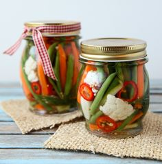 Refrigerator Pickles for summer