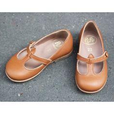 Ballerines babies en cuir camel [Pèpè]. #lillibulle #shoes