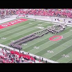Ohio State Band tribute to Michael Jackson
