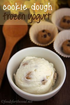 This healthier version has over 12 grams of protein per serving! (And no ice cream maker needed!)