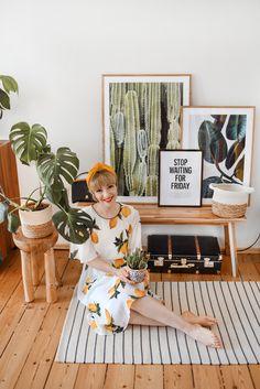 Wie aus meinem tiefschwarzen Daumen ein grüner wurde – nachgesternistvormorgen Love Her Style, Your Style, Interior Inspiration, Style Inspiration, German Fashion, Lemon Print, Only Fashion, Fashion Prints, Photo Booth