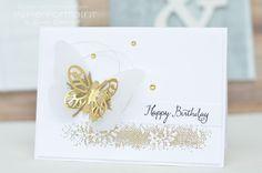 Papierforma(r)t: Goldene Geburtstagsgrüße
