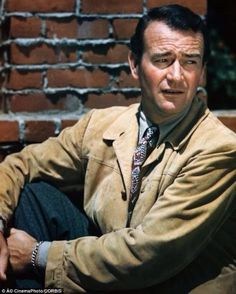 """""""The guy you see on the screen isn't really me. I'm Duke Morrison, and I never was and never will be a film personality like John Wayne. I know him well. I'm one of his closest students. I have to be. I made a living out of him."""" John Wayne"""
