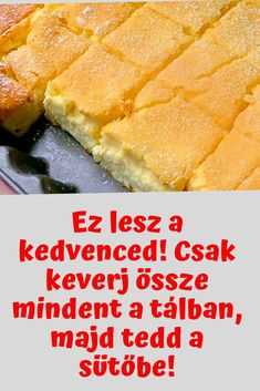 Mennyei süti! #sütemény Hungarian Desserts, Hungarian Recipes, Sweets Recipes, Baking Recipes, Cake Recipes, Diet Cake, Smoothie Fruit, Cooking Competition, Food Humor