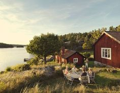 Insight's travel guide to Sweden's destinations, including Stockholm plus the Freezing, Sweden is the excellent area for anyone who really likes the good open air . Ferreira Do Zêzere, Haus Am See, Swedish House, Farm Life, Country Life, Scandinavian, Beautiful Places, Croatia Travel, Iceland Travel