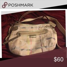 Coach Purse Small Coach Crossbody purse. Excellent condition. Used twice. Coach Bags Crossbody Bags
