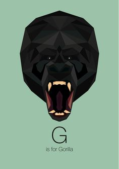 Animal Alphabet by Linn Maria, via Behance