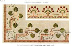 Gallery.ru / Фото #12 - Vintage DMC - Motifs for Embroideries No 3 - Dora2012
