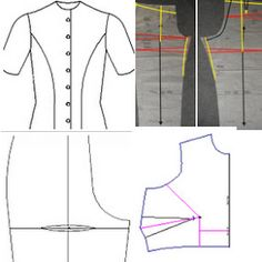 Sewing tutorials: Pattern alterations