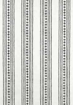 NEW HAVEN STRIPE, Black, F910611, Collection Ceylon from Thibaut