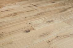 """Hardwood - European Brushed Oak Collection - Natural / Oak / Standard / 6"""""""