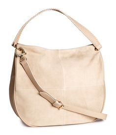 Bag with Suede Details