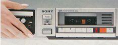 Sony TC-FX7 (1980) Sony Design, Sony Electronics, Diy Amplifier, Audiophile, Decks, Man Cave, Tape, Gadgets, Group
