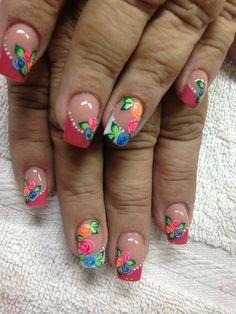 Arte Lu Nail Stuff, My Nails, Nail Art, Places, Ideas, Hand Designs, Pedicures, Feet Nails, Fingernail Designs