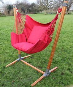 Hangstoel NewLine met standaard Panda Forte : Hangmat expert sinds 1981, Hangmatten van Marañon, Kwaliteits Hangmatten