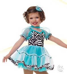 Curtain Call Costumes® - Welcome To The Jungle Kids or baby tap dance costume