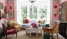 love the shade of pink on the walls by demife