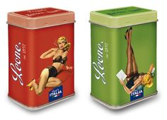 Pastiglie Leone. Pin up tinboxes' collection.