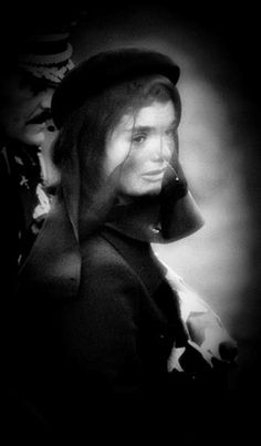 """""""There is one thing that you must know. I consider that my life is over and I will spend the rest of it waiting for it really to be over."""" —Jacqueline Kennedy, December 20, 1963 http://en.wikipedia.org/wiki/State_funeral_of_John_F._Kennedy"""
