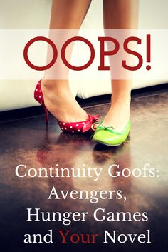 OOPS! How to avoid continuity errors and what to do when you do make them. | Fiction Notes by Darcy Pattison