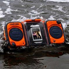 Rugged Adventure-Proof Speakers - The Eco Terra Waterproof Boombox Provides Unparalleled Performance (GALLERY)