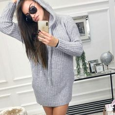 Hooded Long Sleeve Plain Knitting Enjoy Linen Dresses summer Free Shipping $59+ & Easy Return. Up to 80% Off. First Order   5% Off Code:EB5F Casual Dresses for women casual dresses for summer casual dresses modest casual dresses boho casual dresses for work #CasualDresses #CasualDresses #casualdressesforsummer #casualdressesforschool   #casualdressesforteens #businesscasualdresses #casualdressesforwork #cutecasualdresses   #casualdressesoutfit #casualdresseskneelength