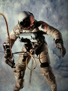 OG Spaceman - Ed White - first American to walk in space. Killed in the Apollo 1 fire.