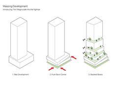 plans toronto tower with public podium at ground level - - Architecture Plan Concept Architecture, Architecture Design, Conceptual Architecture, Building Concept, Pavilion Architecture, Sustainable Architecture, Architecture Diagrams, Architecture Portfolio, Biomimicry Architecture
