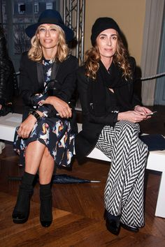 Mademoiselle Agnes Photos - Front Row at the Carven Show - Zimbio