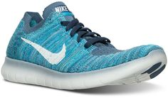 Nike Women's Free RN Flyknit Running Sneakers from Finish Line