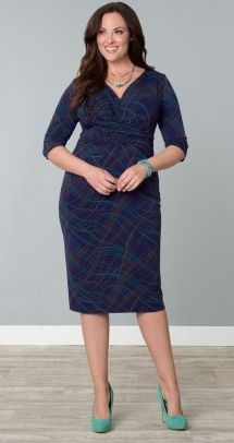 2f4a0e3d243 Julia Pleated Dress. Big Girl FashionCurvy ...