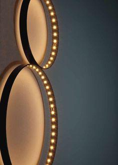 LED direct-indirect light wall lamp SIRIUS - Le Deun Luminaires
