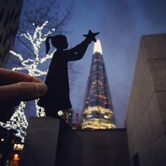 """""""Last one in my festive mini-series; The Shard. Check out the @digitalrev youtube channel to see me, @kaimanwong and this cutout in action! #theshard…"""""""