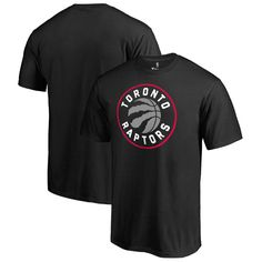 Toronto Raptors Team Essential T-Shirt - Black