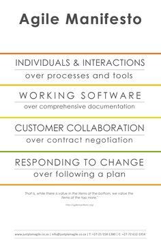 The Agile Manifesto for Just Plain Agile