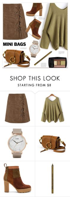 """""""ootd"""" by mycherryblossom on Polyvore featuring Lancôme, CLUSE, Frye, See by Chloé and NYX"""
