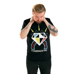 The Official Victory Records Website, home to historic and influential artists such as Thursday, Hawthorne Heights, Taking Back Sunday & more. Taking Back Sunday, Diamond T Shirt, Victorious, Comebacks, Hoodies, Sweaters, Kids, Shirts, Black