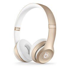 Beats by Dr. Dre Solo2 ワイヤレスオンイヤーヘッドフォン - ゴールド - Apple Store(日本)