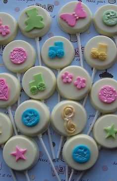 Baby Shower Chocolate Lollipops