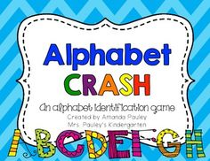 FREE Alphabet CRASH game